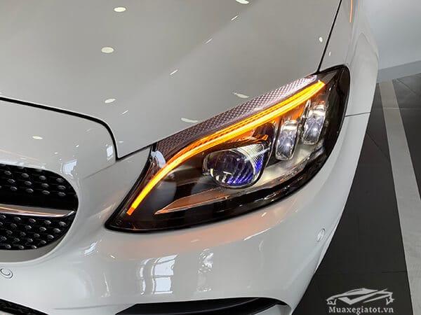 den pha xe mercedes c300 amg 2019 muaxegiatot vn 25 - Đánh giá xe Mercedes C300 AMG 2021 kèm giá bán #1