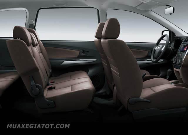 hang ghe thu hai toyota avanza 15at 2020 blogoto vn - Đánh giá Toyota Avanza 2021 kèm giá bán #1