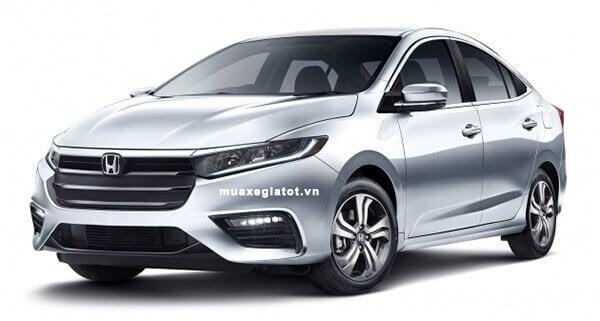 Đầu xe Oto Honda City 2020 (Ảnh phác thảo)