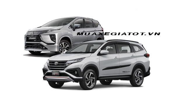 so sanh toyota rush va mitsubishi xpander muaxegiatot vn 3 - So sánh xe 7 chỗ Toyota Rush 2021 và Mitsubishi Xpander 2021