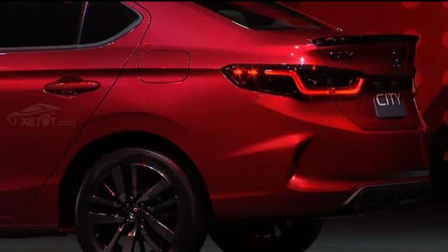duoi xe honda city rs 2021 tai thailan muaxegiatot vn - Nên mua Toyota Vios 2021 hay Honda City 2021 thế hệ mới?