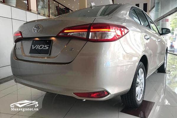 duoi xe toyota vios 2021 2019 2021 15g muaxegiatot vn 4 - Nên mua Toyota Vios 2021 hay Honda City 2021 thế hệ mới?