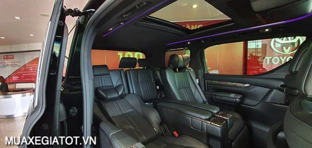 """hang ghe thu 2 toyota alphard 2021 muaxegiatot vn - Đánh giá xe Toyota Alphard 2021 - """"Chuyên cơ mặt đất"""" gây sốt thị trường xe hơi Việt Nam"""