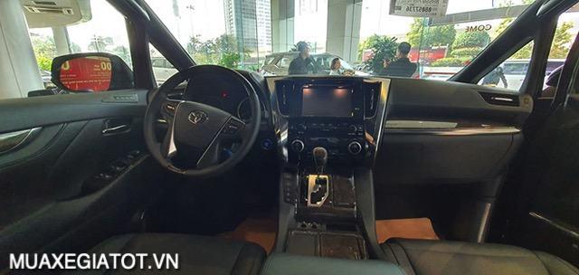 """khu vuc tai xe toyota alphard 2021 muaxegiatot vn - Đánh giá xe Toyota Alphard 2021 - """"Chuyên cơ mặt đất"""" gây sốt thị trường xe hơi Việt Nam"""